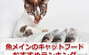 魚メインのキャットフードのおすすめランキング